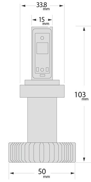 H7adapterサイズ