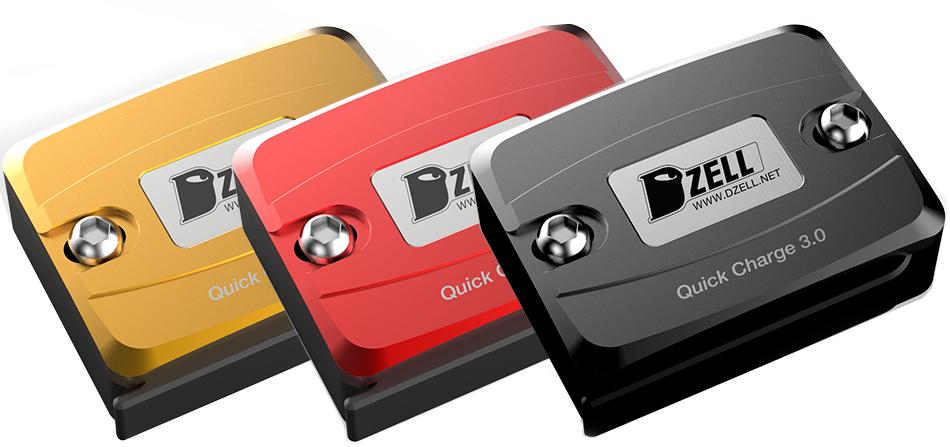 USB1ポート3色