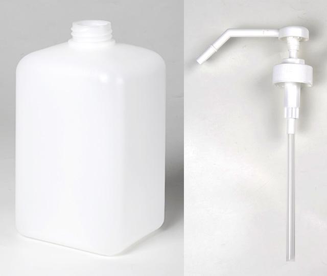 ボトルとポンプ