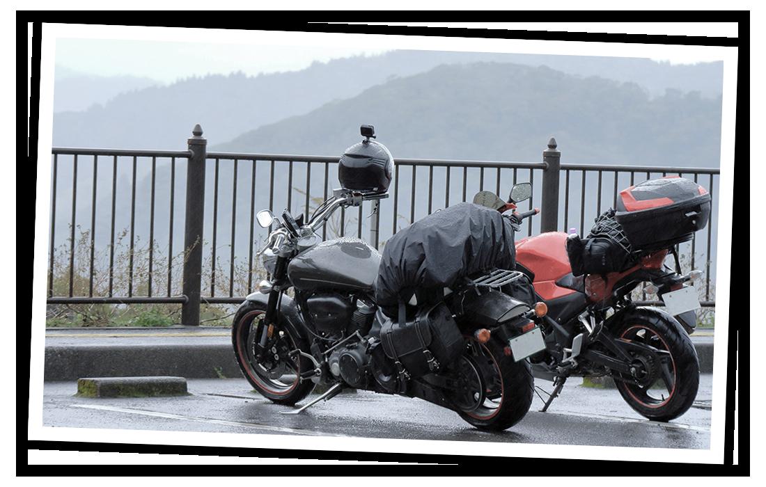 enjoy motorcycle touring ...